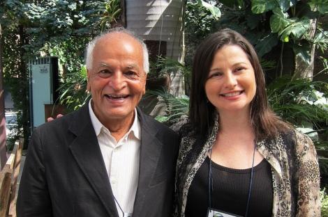 Satish and Maria