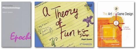 Phenomenology and Games Books