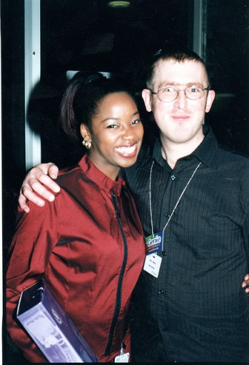 Myself with Jamelia