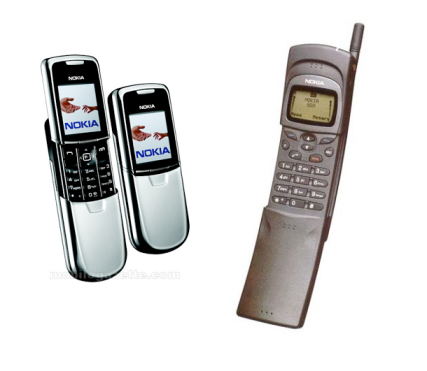 Nokia 8810 and 8110