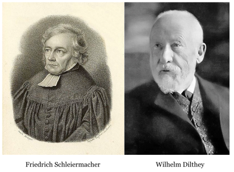 Friedrich Schleiermacher and Wilhelm Dilthey