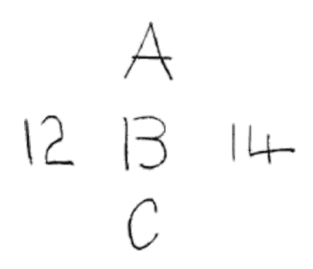 A B C 12 13 14