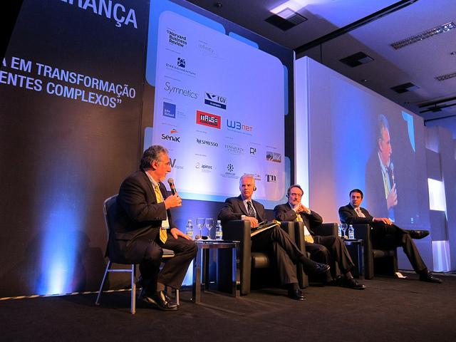 Stavros Xanthopoylos, Anthony Mayo, Peter Capelli and Marcelo Monteiro de Miranda