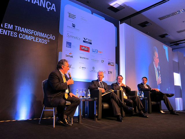 Stavros Xanthopoylos, Anthony Mayo, Peter Capelli and Marcelo Monteiro de Miranda