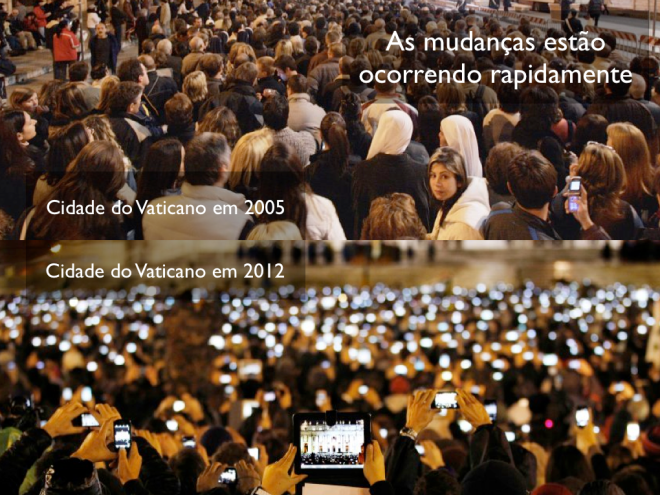 Vatican City, 2005 and 2012