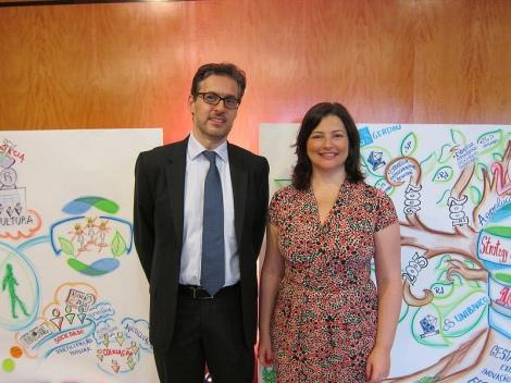 Hugo Penteado and Maria Auxiliadora