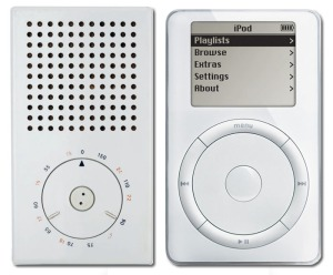 Braun Radio and Apple iPod compared