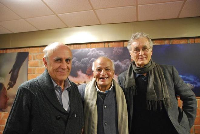 Fritjof Capra, Satish Kumar and Gustavo Esteva