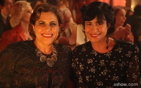 Duca Rachid and Thelma Guedes