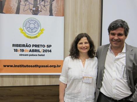 Maria with Dalton de Souza Amorim