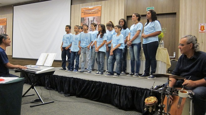 The Choir from the Sai School of Ribeirão Preto