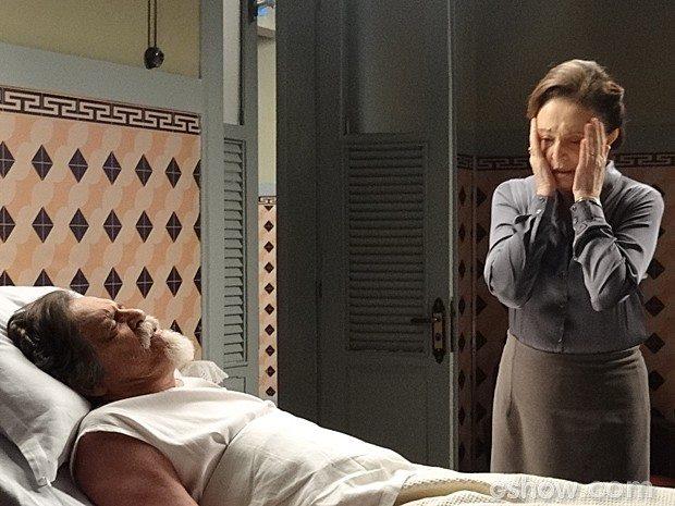 Gertrude visits Ernest