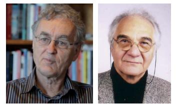 Fritjof Capra and Pier Luigi Luisi