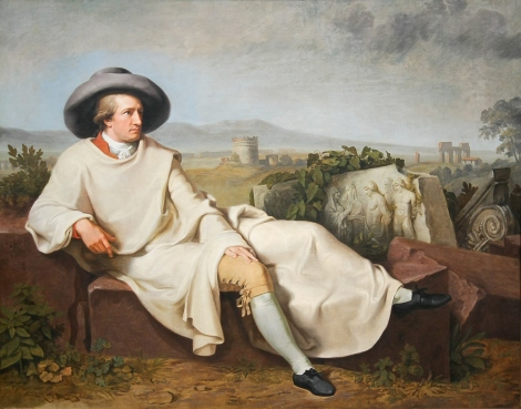 Tischbein's Portrait of Goethe: Wikipedia