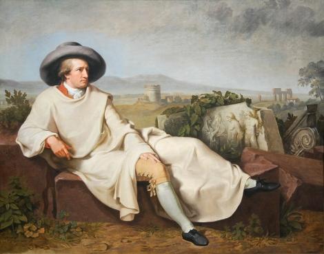 Tischbein's Portrait of Goethe: Wikipedia
