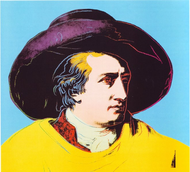 Goethe by Andy Warhol 1981