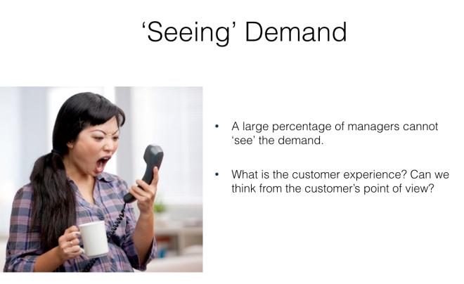 Seeing demand