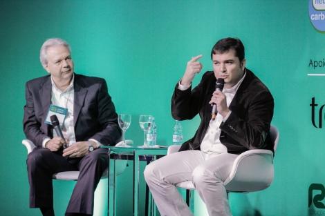 Ricardo Vargas (right) with Jarbas Guimarães