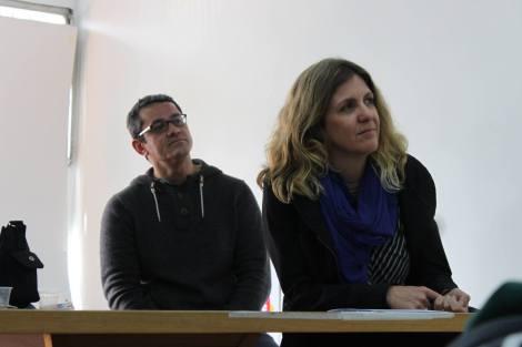 Érico Fileno and Clarissa Biolchini