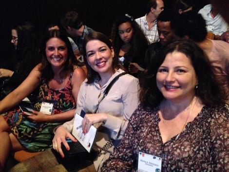 Daniela Carvalho, Zoraide Stark and Maria Moraes Robinson