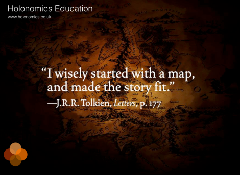 Tolkein quote mapping