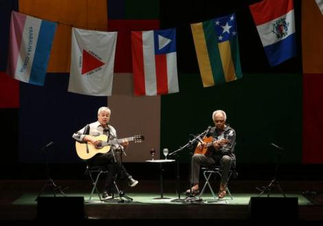 Caetano Veloso and Gilberto Gil