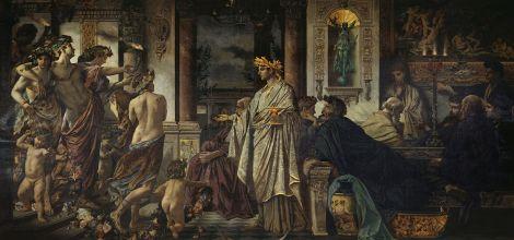 Credit: Wikipedia - Plato's Symposium (Anselm Feuerbach, 1873)