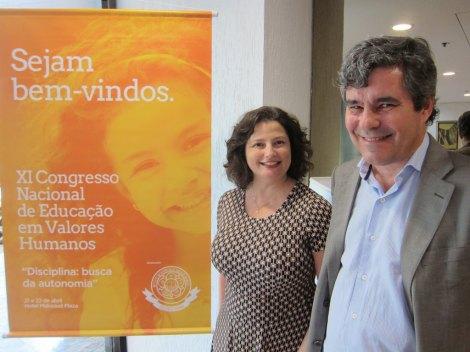 Maria Moraes Robinson with Dalton Amorim