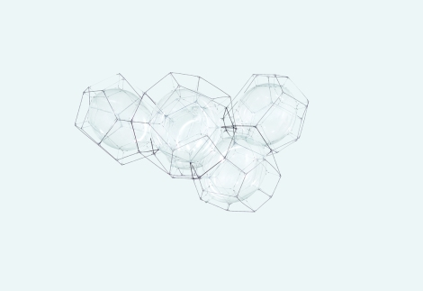 Tomás Saraceno, Cloud Cities Thermodynamics of Self-Assembly/005, 2015; San Francisco Museum of Modern Art, Accessions Committee Fund purchase; © Tomás Saraceno; photo: courtesy the artist and Tanya Bonakdar Gallery, New York