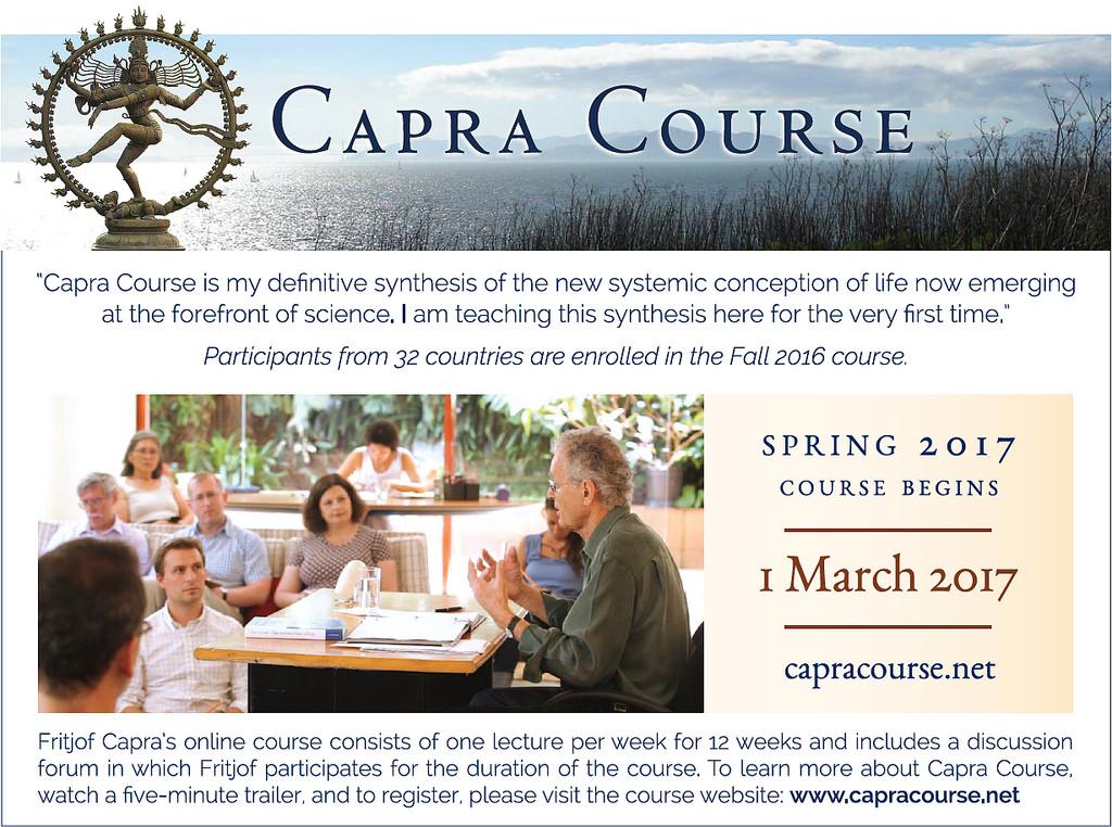 Capra Course Spring 2017srerobinsonCapra Course Spring 2017Fritjof Capra Capra CourseCredit: Simon Robinson
