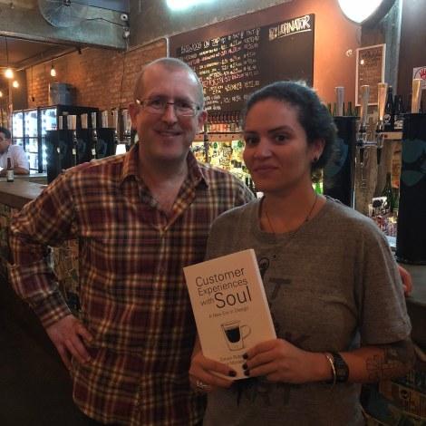 Simon Robinson with Erika Thais Rocha